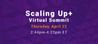 Scaling Up Sales Summit